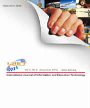 Ijiet International Journal Of Information And Education Technology